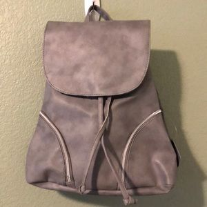NWT ULTA Back Pack with Pockets Grey OS
